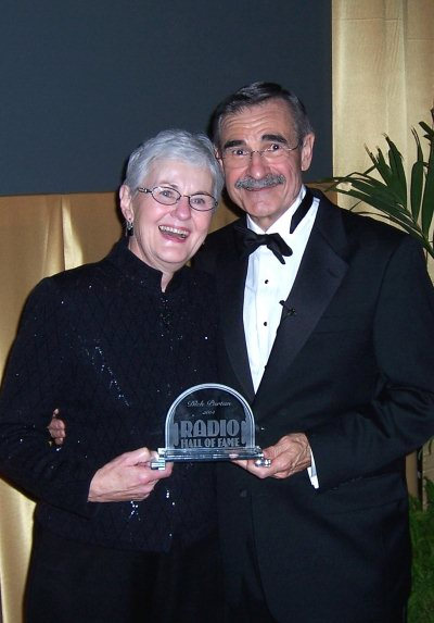 Dick Purtan and Gail, Wife at Radio Hall of Fame