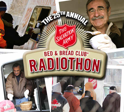 Dick Purtan, Salvation Army 2012, Bed & Bread Club