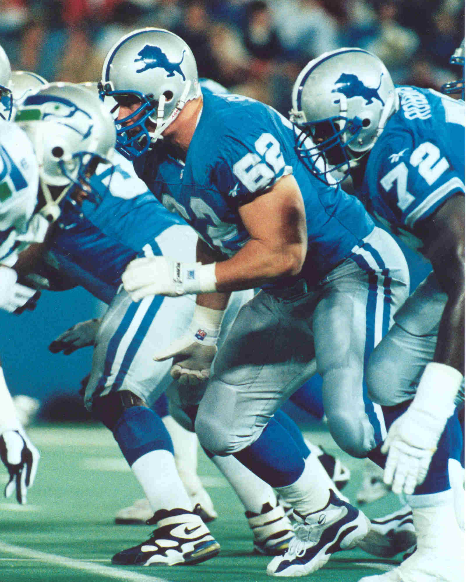 Tomy Semple, Detroit Lions Football